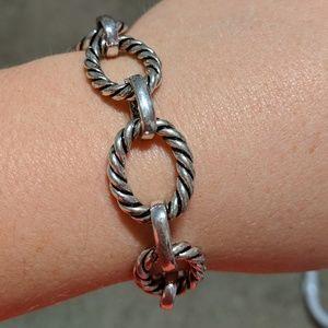 Jewelry - Silver Toggle Bracelet